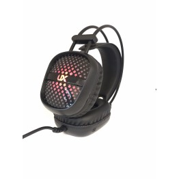 компьютерные проводные игровые наушники с микрофном, регулятором громкости и 3-я подсветками A2