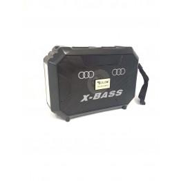 колонка с солнечной батареей, USB, SD, FM, Bluetooth, фонариком и 1-динамиком 18см*12.8см*6см GOLON RX-S333BTS
