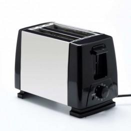 тостер зеркальный с регулировкой температуры, кнопкой стоп 750ватт BH-002