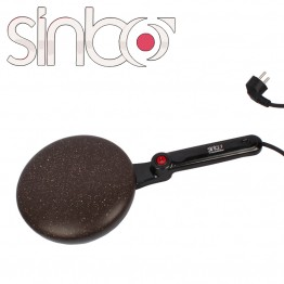 электрическая блинница с антипригарным покрытием и тарелкой диаметр 20см, 650ваат sinbo SP 5208
