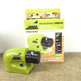 электрическая точилка на батарейках для ножей и ножниц DY-521