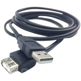кабель USB папа-мама AM/AF 1метр