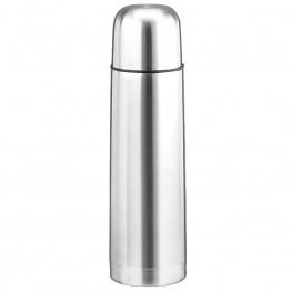 термос металлический с кнопкой для наливания и чашкой в комплекте HIGH GRADE VACUUM FLASK 500мл