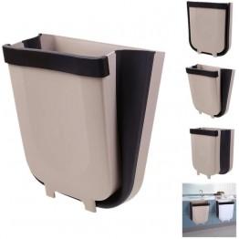 чудо-мусорный складной универсальный контейнер на пол и дверцу 21см*24см (люкс качество на ящике 30-10)