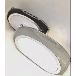 колонка с USB, SD, FM, Bluetooth, 2-я динамиками и светомузыкой 18.3см*8.8см S16