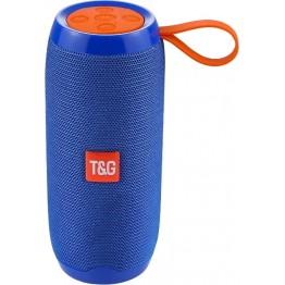 влагостойкая колонка с USB, SD, FM, Bluetooth, 2-динамиками и силиконовой ручкой 16см*6.6см TG 106