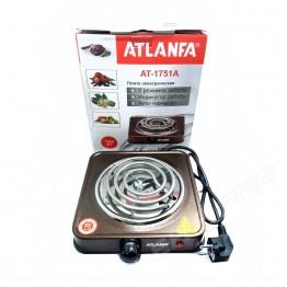 Cпиральная электроплита с защитой от перегрева 1000вт AT-1751A