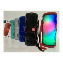 влагостойкая колонка с USB, SD, FM, Bluetooth, 2-я динамиками и светомузыкой 18.8см*7.8см TG-167