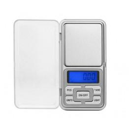 карманные весы с цифровым дисплеем для взвешивания мелких предметов с пластиковыми кнопками от 0,01гр до 200гр