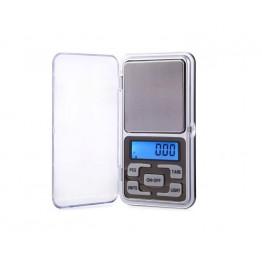 карманные весы с цифровым дисплеем для взвешивания мелких предметов с резиновыми кнопками от 0,01гр до 200гр