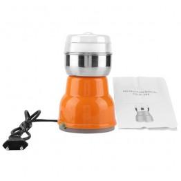 электроимпульсная кофемолка из нержавеющей стали пластиковым корпусом 150ват SEVEN STAR 7SCP-384 (на ящике 50-1)