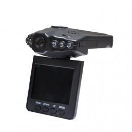 авторегистратор с разъемом для микро SD, дисплеем 2.5 дюйма и поворотом 270 градусов DVR-198