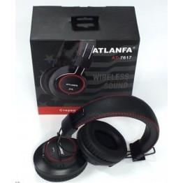 беспроводные складные наушники с MP3, FM-приемником, Bluetooth и аккумулятором AT-7617