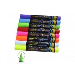 флуоресцентный маркер для рисования на Led доске в цветах 5мм (в упаковке 8шт)