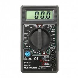 многофункциональный цифровой мультиметр с дисплеем и звуком DT-832 оригинал