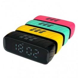 беспроводной микрофон-караоке с фунцией изменения голоса, фонограммы, записью, USB, SD, AUX и Bluetooth WS-858