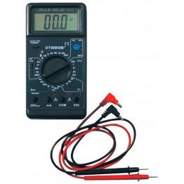 многофункциональный цифровой мультиметр с дисплеем и звуком DT-890B+ оригинал