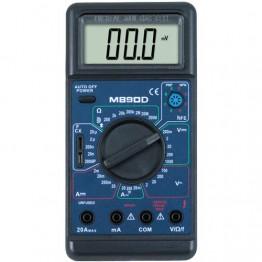 многофункциональный цифровой мультиметр с дисплеем и звуком M-890D оригинал