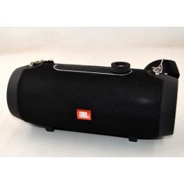 влагостойкая колонка JBL с USB, SD, FM, Bluetooth, 2-динамиками, ремешком и подставкой для телефона 24.5см*9.5см E66