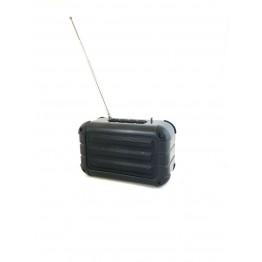 колонка с USB, SD, FM, Bluetooth, 2-динамиками и антенной 14.5см*8.5см*6.5см N15