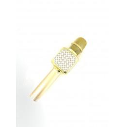 микрофон-караоке с фунцией изменения голоса, фонограммы, записью, аккопонементом, USB, SD, FM, AUX и Bluetooth YS-69