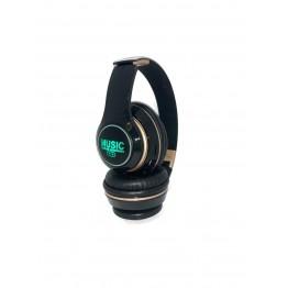 беспроводные складные наушники с MP3, FM-приемником, Bluetooth, аккумулятором и подсветкой T15