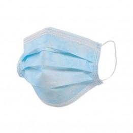 одноразовая трехслойная маска для лица 25шт в упаковке (только упаковкой)