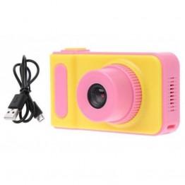 цифровой детский фотоаппарат в пластиковом корпусе, 3mp, дисплеем 2.0 с функцией видеосъемки