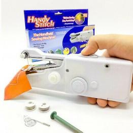 ручная портативная швейная машинка от батареек Handy Stiteh CS-101B (на ящике li-13-20)