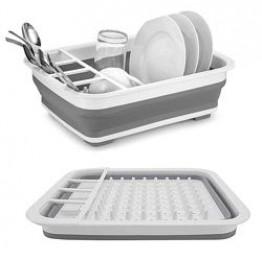 чудо-сушилка трансформер(складная) для сушки посуды и кухонных приборов (люкс качество)
