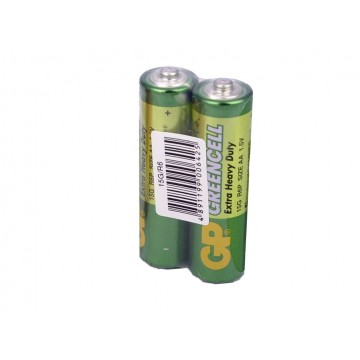 батарейка GP GREENCELL Extra Heavy Duty 15G S2(R6P, size AA) (40)