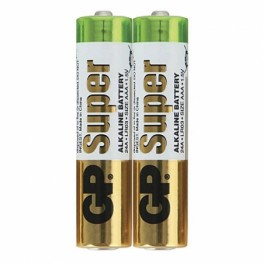 батарейка GP Super Alkaline Battery 24A S2(LR03, size AAA) (40)