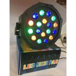 лазерный проектор светомузыки для клубов и ресторанов на 18 лампочек