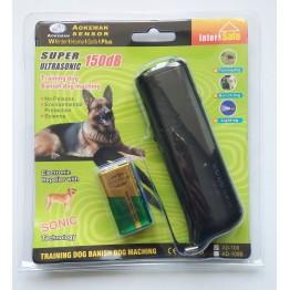 Ультразвуковой отпугиватель собак с батарейкой в комплекте Super Ultrasonic 150dB