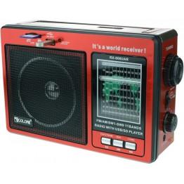 радиоприемник от сети с USB, SD и с аккумулятором 25см*17см*8.5см GOLON RX-006UAR