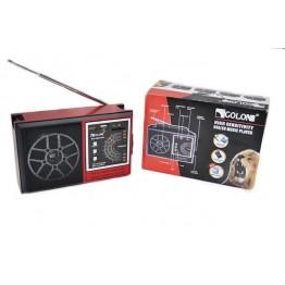 радиоприемник от сети с USB, SD и с аккумулятором 21.5см*13.5см*7.5см GOLON RX-002UAR