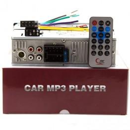 автомагнитола с 4-я выходами, евро разъемом, радиатором, USB, SD и FM приемником-6248