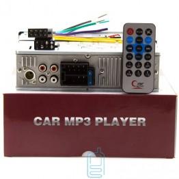 автомагнитола с 4-я выходами, евро разъемом, радиатором, USB, SD и FM приемником-6249