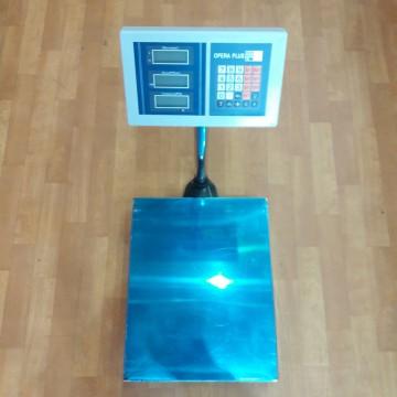 торговые электронные весы со стойкой и цифровым диспеем от 50гр. до 150кг