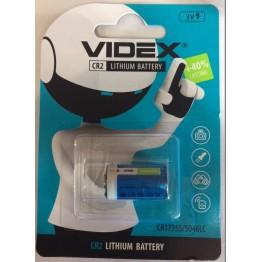 батарейка литиевая VIDEX 3V CR2A, CR17355/5046LC (1шт/20шт)