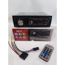 автомагнитола с 4-я выходами, USB, SD, FM, AUX, предохранителем, евро-разъемом и радиатором охлаждения 2017