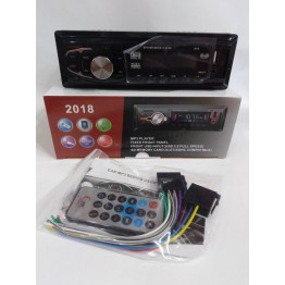 автомагнитола с 4-я выходами, USB, SD, FM, AUX, предохранителем, евро-разъемом и радиатором охлаждения 2018