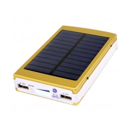 портативн.зарядн.устр. Power Bank 2USB,фонарик,солн. батар. 18000mA AT-2019 Elite
