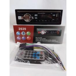 автомагнитола с 4-я выходами, USB, SD, FM, AUX, предохранителем, евро-разъемом и радиатором охлаждения 2020