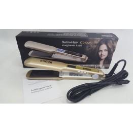 проф. керамический утюжок для выпрямления волос с LED-дисплеем BRAUN-3131