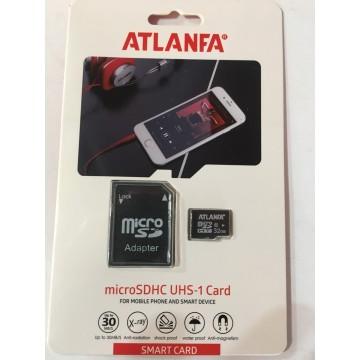карта памяти 32Gb class 10 (adapter SD) ATLANFA