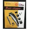Машинка для стрижки волос от сети с 4-я насадками, ножницами и расческой SP-4604