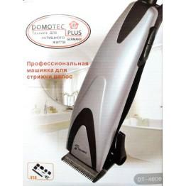 машинка для стрижки волос от сети с 4-я насадками, ножницами и расческой DOMOTEC MS-4606