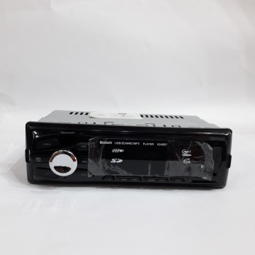 автомагнитола с 4-я выходами, евро разъемом, радиатором, USB, SD, FM приемником и Bluetooth-6245BT