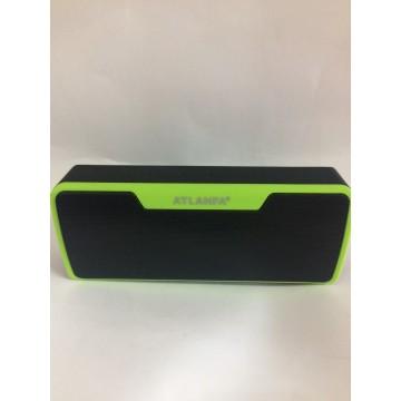 колонка с USB, SD, FM, Bluetooth и 2-динамиками 19см*8см*4.5см, 3ватт*2 AT-7765BT